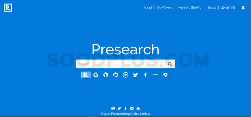 کسب درآمد از PreSearch